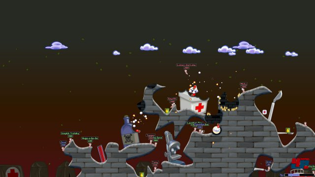 Screenshot - Worms World Party (PC)