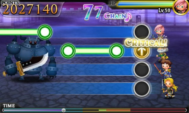 Screenshot - Theatrhythm: Final Fantasy (3DS)