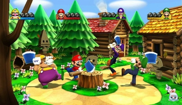 Screenshot - Mario Party 9 (Wii)