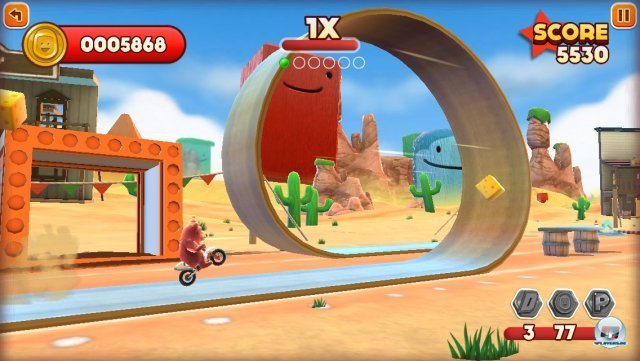 Screenshot - Joe Danger Touch (iPhone) 92439347