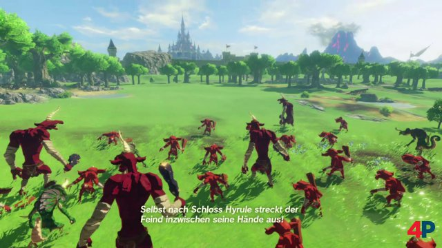 Screenshot - Hyrule Warriors: Zeit der Verheerung (Switch)