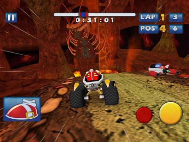 Screenshot - Sonic & Sega All-Stars Racing (iPhone)