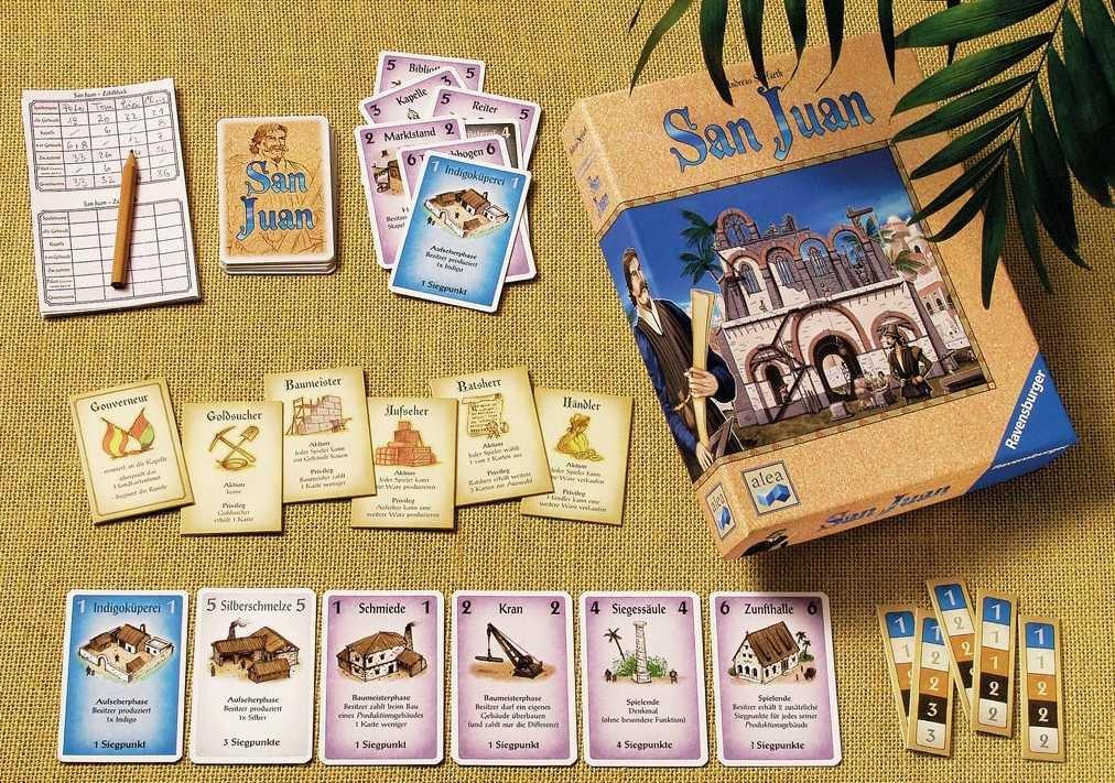 San Juan kostet knapp 15 Euro und ist 2004 bei Ravensburger erschienen.
