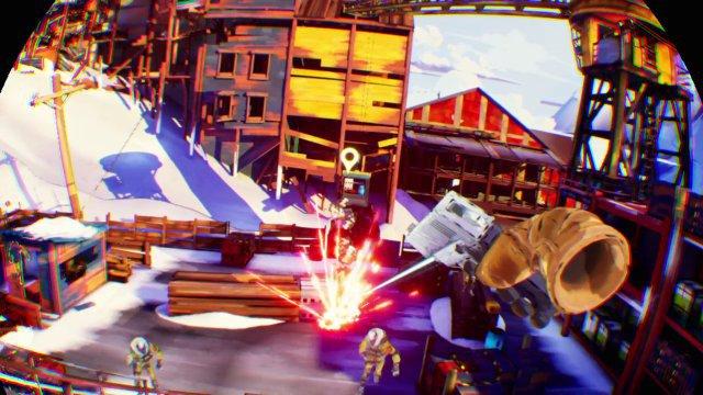 Nicht realistisch animiert, aber lustig: Die mutierten Gegner machen neben explosiven Fässern gerne mal den Abflug.
