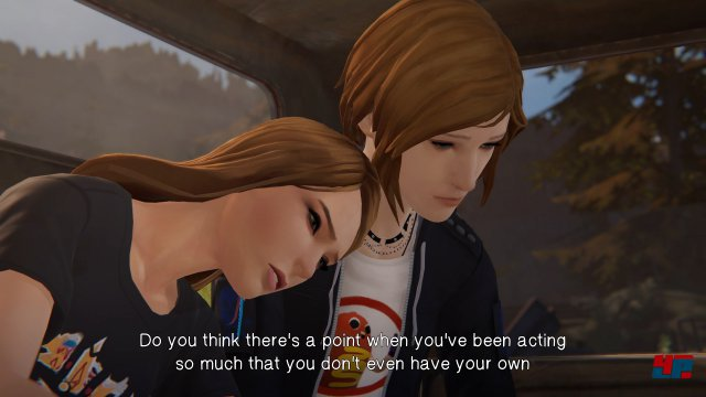 Die Beziehung zwischen Chloe und Rachel ist zuckersüß und als Spieler hat man Einfluss auf ihre Entwicklung.