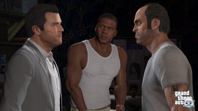 Die Dynamik zwischen den drei Protagonisten wird angemessen inszeniert.
