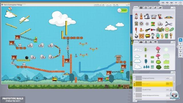Screenshot - Contraption Maker (PC)