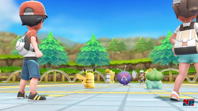 Screenshot - Pokémon Let's Go,Pikachu! & Let's Go, Evoli! (Switch) 92566050