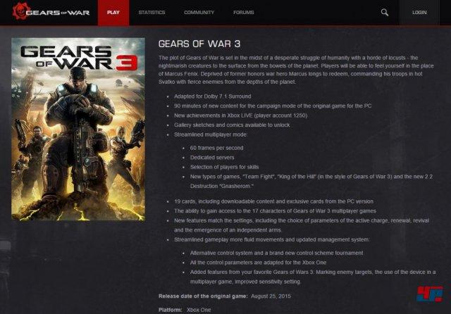 Screenshot - Gears of War 3 (XboxOne)