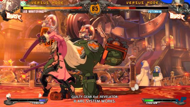 Screenshot - Guilty Gear Xrd -Revelator- (PlayStation3) 92520100