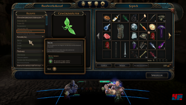 Screenshot - The Bard's Tale 4: Barrows Deep (PC) 92574219