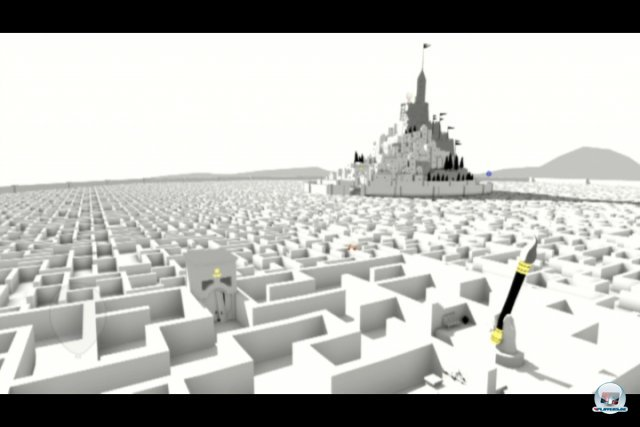 Screenshot - The Unfinished Swan (PlayStation3)