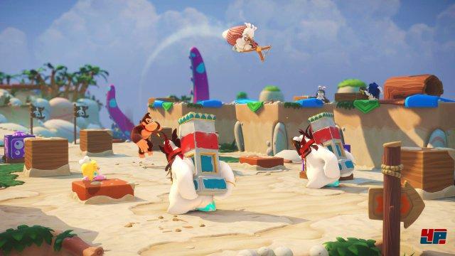 Screenshot - Mario   Rabbids Kingdom Battle - Donkey Kong Adventure (Switch) 92569348