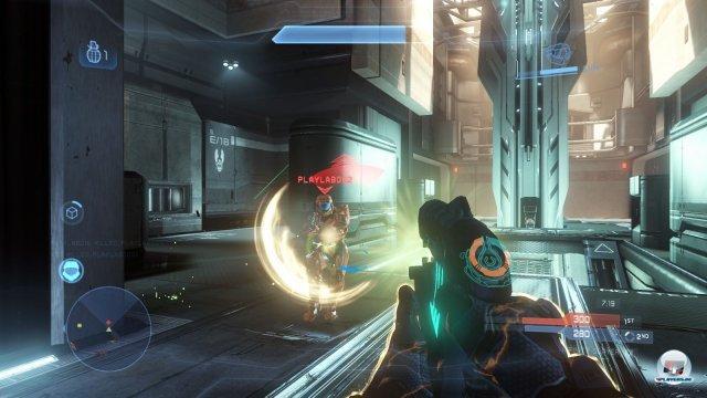Typisch Halo: Wer erfolgreich sein will, muss hartnäckig bleiben.