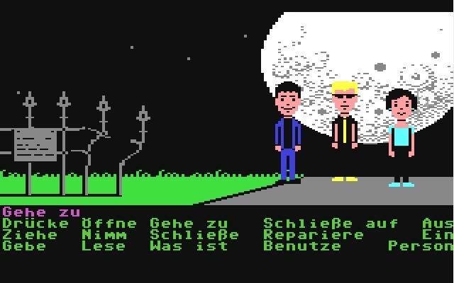 <b>Maniac Mansion</b> (1987)<br> Entwickler: Lucasfilm Games<br> Publisher: Softgold 1748448