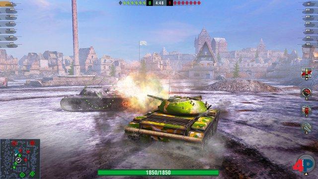 Screenshot - World of Tanks Blitz (Switch)