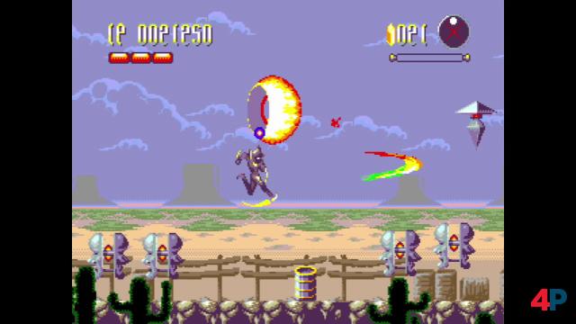 Tänzer: Das 2D-Actionspiel wurde via Kickstarter finanziert und erschien 2019 als Modul für Mega Drive - und jetzt als Teil der Mega Cat Collection 1 auf Evercade.