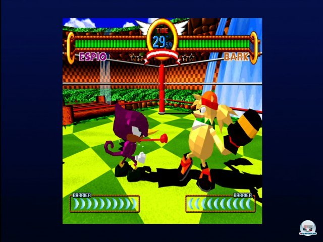 Screenshot - Sonic the Fighters (360)