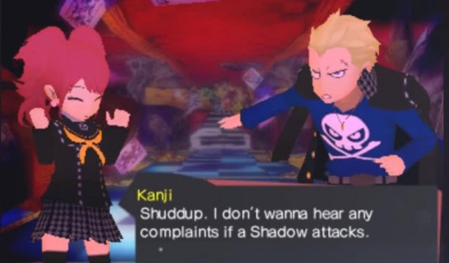 Screenshot - Persona Q: Shadow of the Labyrinth (3DS)