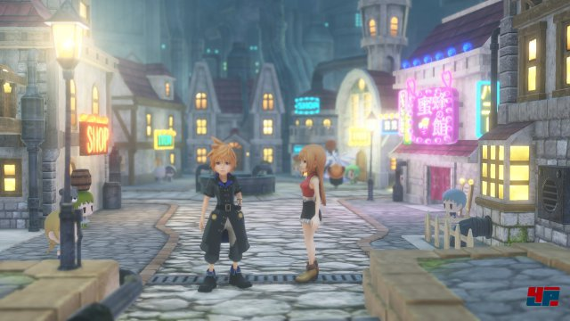 Screenshot - World of Final Fantasy (Switch)