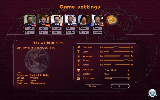 Screenshot - Politiksimulator 3 - Masters of the World (PC)