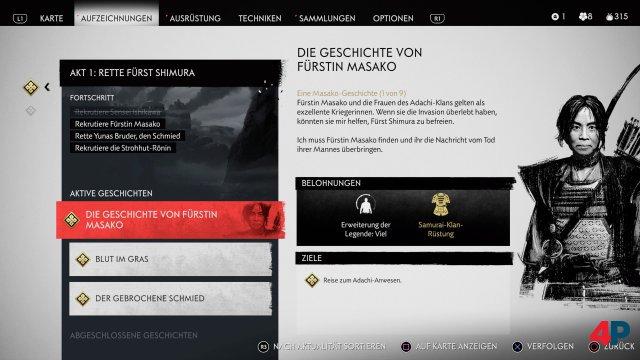 Man kann interessanten Charakteren in Missionen folgen.