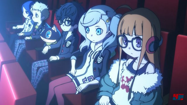 Screenshot - Persona Q2: New Cinema Labyrinth (3DS)
