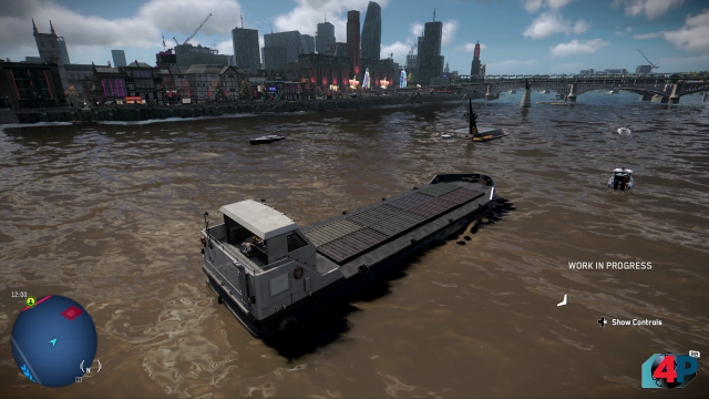 Mit dem Schiff auf der Themse schippern und einfach ein bisschen Sightseeing machen? Klar geht das in Watch Dogs Legion.