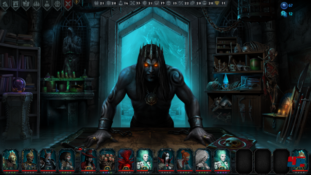 Screenshot - Iratus: Lord of the Dead (PC)