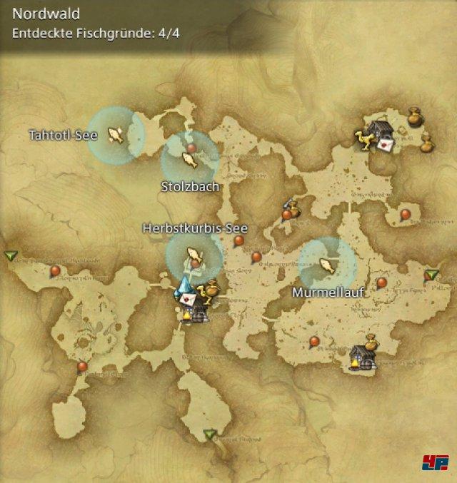Final Fantasy XIV Online: A Realm Reborn - Fischgründe: Finsterwald, Nordwald