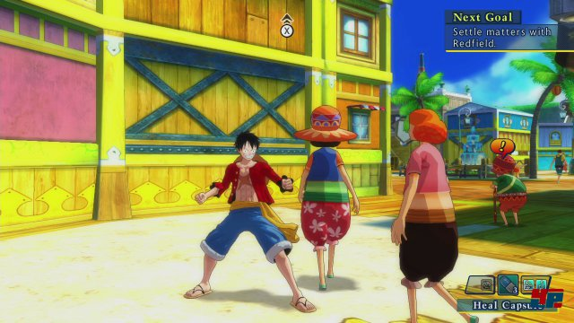 Screenshot - One Piece: Unlimited World Red (PlayStation3) 92484341