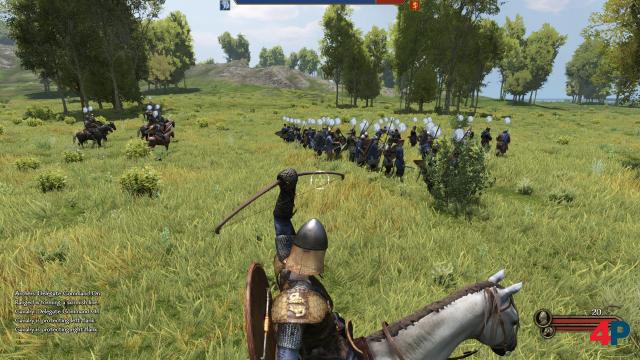 """""""Macht euch bereit, Männer!"""" - den Formationen können einzeln Befehle gegeben werde."""