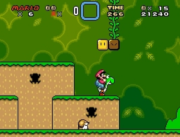 Super Mario World (1990)<br><br>Superlative sind an sich eine prima Sache, zu viele davon wirken aber lästig. Tut mir leid. Aber dennoch ist Super Mario World das beste Jump-n-Run aller Zeiten, nicht nur für mich. Punkt. Nintendo bewies mit diesem Meilenstein mal wieder ein beeindruckend untrügliches Gespür für Geschäftssinn, schließlich war SMW neben dem gleichsam brillanten F-Zero einer der Starttitel für die jungfräuliche SNES-Konsole - und zack, die Spieler klebten an dem System wie Rechtsanwälte an O.J. Simpson! Das Spiel folgt den Wegen von SMB 3, führte an jedem Pixel aber spür- und spielbare Verbesserungen durch, revolutionierte mal wieder die Technik - und präsentierte mit Yoshi den wohl putzigsten Sidekick aller Zeiten! 1724680