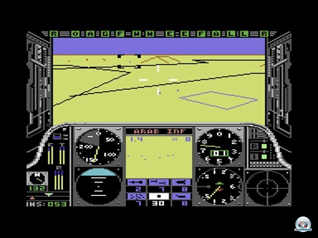 <b>Gunship</b><br><br> Ebenfalls erstaunlich realistisch wirkte MicroProses Heli-Sim Gunship aus dem Jahr 1986: Sogar der Luftstrom der AH-64A Apache wurde bei der Landung simuliert. Wer mit lasergesteuerten Hellfire-Raketen und anderen Todbringern gegen feindliche Hubschrauber kämpfte, fühlte sich mitten in die Action versetzt. Ähnlich spannend gestalteten sich die Luftkämpfe von Ace of Aces und die U-Boot-Simulation Silent Service. 2371822