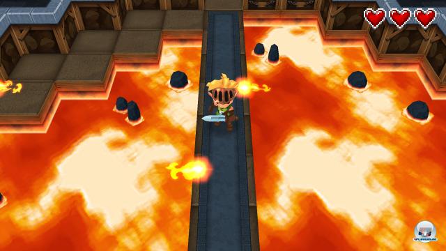 Das Spieldesign orientiert sich vor allem an The Legend of Zelda.