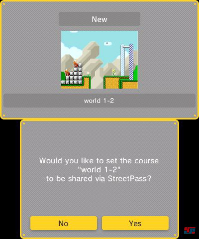 Screenshot - Super Mario Maker (3DS) 92537094
