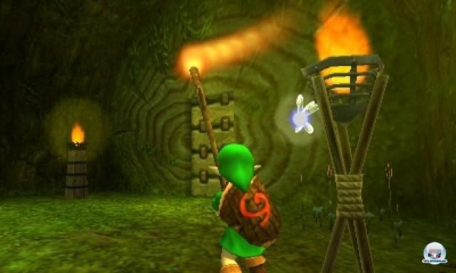 Screenshot - The Legend of Zelda: Ocarina of Time 3D (NDS) 2216979