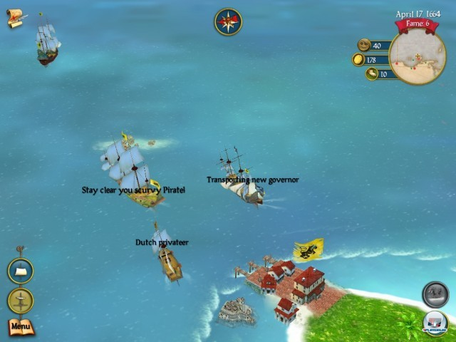 Screenshot - Sid Meier's Pirates! (iPad) 2242198