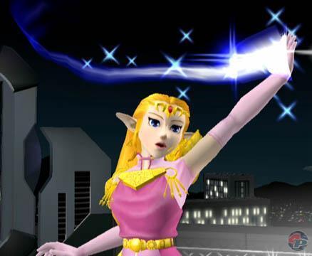 Mit Magie kann Zelda verschiedene Attacken verstärken. 21700