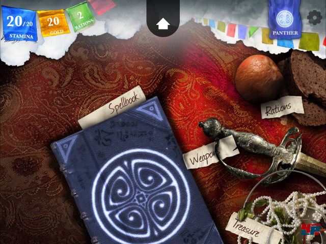 Screenshot - Sorcery! 4- The Crown of Kings (iPad) 92535341