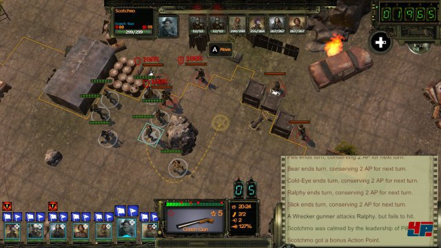 Screenshot - Wasteland 2 (Switch)