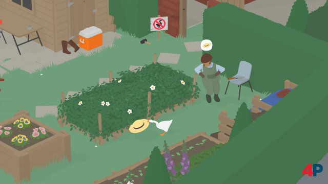Screenshot - Untitled Goose Game (Switch)