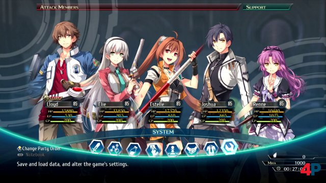 Screenshot - The Legend of Heroes: Trails of Cold Steel 4 (Switch) 92638859