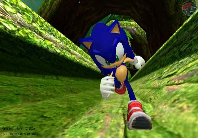 Sonic in Aktion