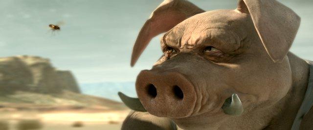 <b>Beyond Good & Evil 2</b><br><br>Eine Fliege, ein Schwein, eine Lady unterm Sonnenschirm. Schön und gut, aber uns interessieren Einzelheiten! Wie viele Borsten weht der physikalisch korrekte Wind pro Sekunde um? Wie viele Seiten hat die Zeitschrift? Wann kommt der ADAC? Und wofür brauchen Hovercrafts eigentlich Asphaltstraßen?<br> Na fein, ein zweites Teaser-Video tut's am Ende auch! Nicht? 1814603