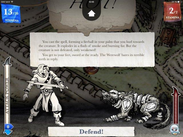 Screenshot - Sorcery! - Teil 2 (iPad) 92471922