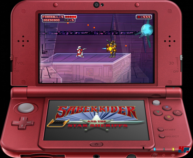 Screenshot - Saber Rider and the Star Sheriffs: The Video Game (N3DS) 92512895