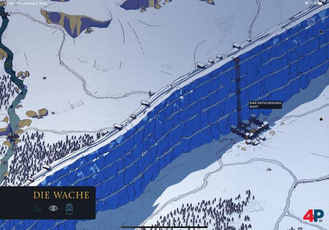 Zwar sieht man hier mal was, aber die Zoomfunktion an der Mauer ist zickig.