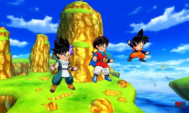 Screenshot - DragonBall Fusions (3DS)