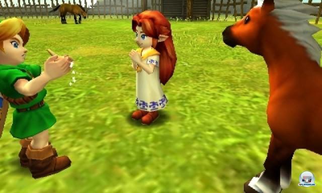 Screenshot - The Legend of Zelda: Ocarina of Time 3D (NDS) 2217018